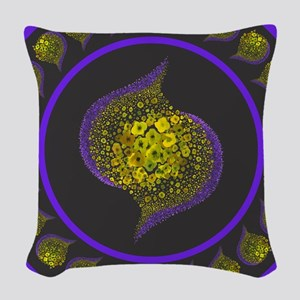 Paths of Color [GP] Woven Throw Pillow